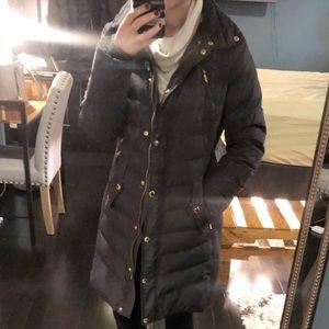 Grey Down MK Jacket